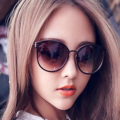 FaceFrame - Zigzag Arm Sunglasses