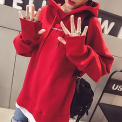 Fashion Street - Panel Letter Hoodie