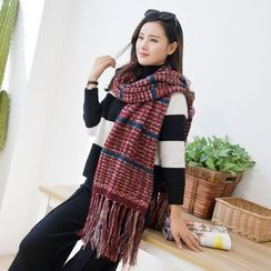 Coco Rush - Mélange Knit Scarf