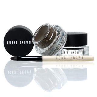 Bobbi Brown - Long Wear Gel Eyeliner Duo: Eyeliner Black 3g + Eyeliner Sepia Ink 3g + Brush