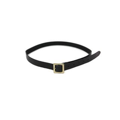 DABAGIRL - Square-Buckle Genuine-Leather Belt