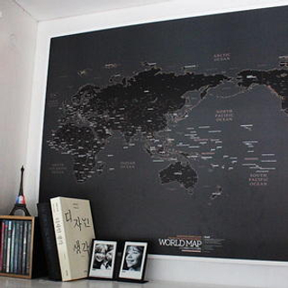 BABOSARANG - World Map Ver.Black