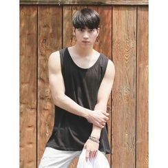STYLEMAN - Oversized Sleeveless Top