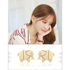 soo n soo - Elephant Stud Earrings