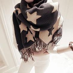 Rita Zita - 星星圖案圍巾