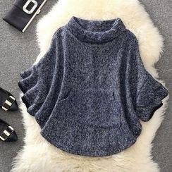 Clementine - 3/4-Sleeve Melange Jacket