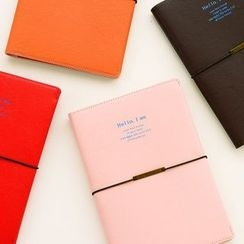 Hera's Place - Faux Leather Notebook