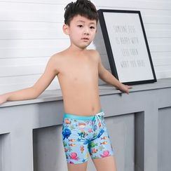 Aqua Wave - Kids Printed Swim Shorts
