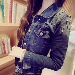 November Rain - Studded Denim Jacket