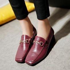 Chryse - 粗跟樂福鞋
