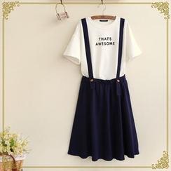 Fairyland - Pleated Jumper Skirt