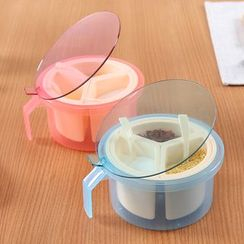 Yulu - 3 Compartment Seasoning Box