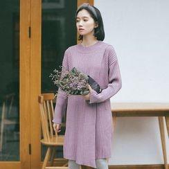 Porta - Ribbed Knit Dress