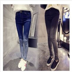 Angel Shine - Gradient Skinny Jeans