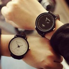 Tacka Watches - 情侣仿皮带手表