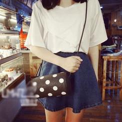 LMWZ - Polka Dot Shoulder Bag