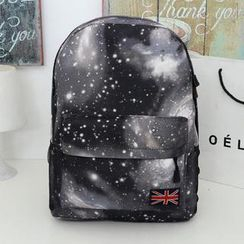 Miss Sweety - Appliqué Printed Backpack