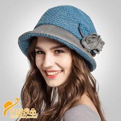 BADA - 花朵圓頂禮帽