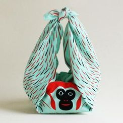 cochae - cochae : Hanging Wrapping Cloth Monkey (Blue)