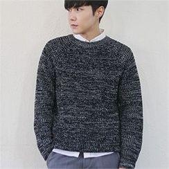 MITOSHOP - Melange Knit Sweater