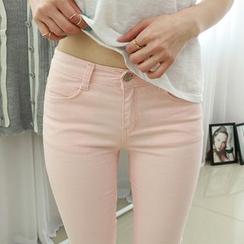 Dodostyle - Cotton Skinny Pants