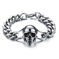 Creole - Skull Bracelet