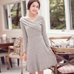Tokyo Fashion - Long-Sleeve Wrap Dress