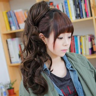 Claw Long Ponytail - Wavy