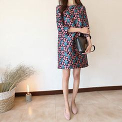 Hello sweety - Patterned Shift Dress