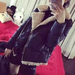 lilygirl - 内加绒夹棉大衣