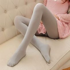Cappuccino - Set of 3 : Plain Anti Snag Tights