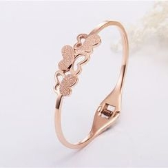 Claudette - Butterfly Bangle