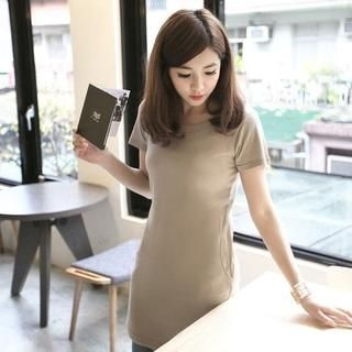 ZOO - Short-Sleeve T-Shirt Dress
