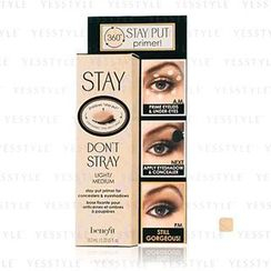 Benefit - Stay Don't Stray Stay-Put Primer For Concealers and Eyeshadows (#Light / Medium)