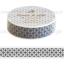 Aimez le style - Aimez le style Masking Tape Primaute Regular Batik Circle