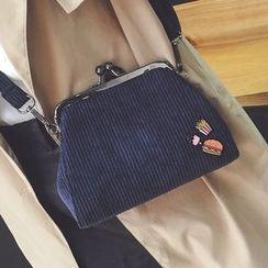 Youshine - Corduroy Shoulder Bag