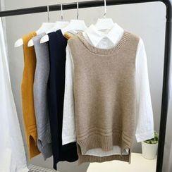 Phantasy - Dip Back Knit Vest
