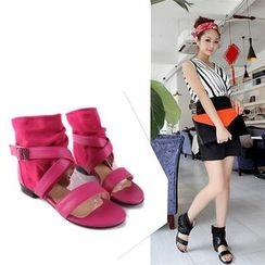 Shoes Galore - High Top Sandals