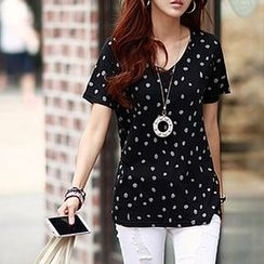 Zyote - Patterned Short-Sleeve T-shirt
