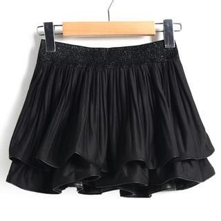 9mg - Layered Ruffle Skirt