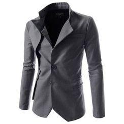 TheLees - Asymmetric-Collar Jacket