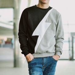 SeventyAge - Lightning Colour Block Pullover