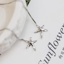 Love Generation - Starfish Tassel Earrings