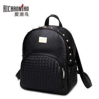 Bluebird - Studded Woven Backpack