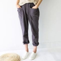 Bonbon - Band-Waist Pants