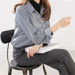 PIPPIN - Long-Sleeve Striped Shirt