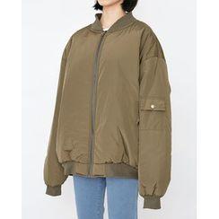 Someday, if - Oversized Padded Flight Jacket
