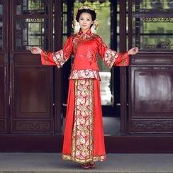 Cypress - Floral Wedding Cheongsam