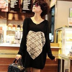 Ando Store - Lace-Panel Tunic