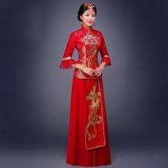 Amanecer - 刺繡婚紗旗袍
